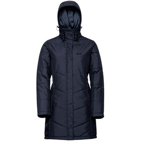 Jack Wolfskin Svalbard Coat Women midnight blue
